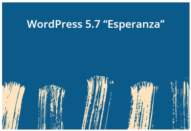 Phiên bản WordPress 5.7